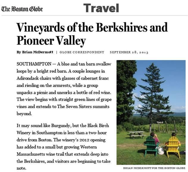 Boston Globe Western MA - Cover